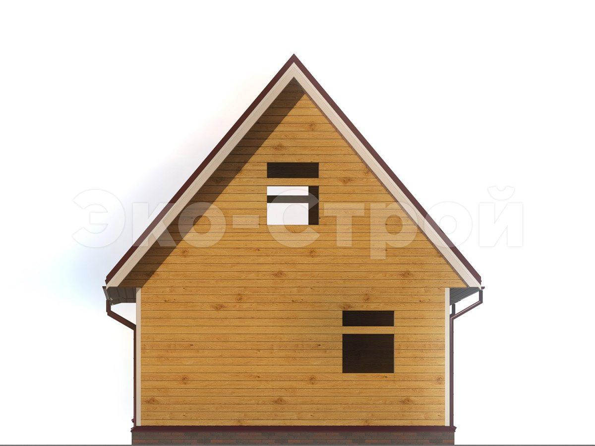 Дом из бруса ДУ 035 вид 2