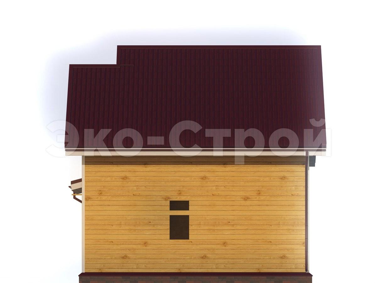 Дом из бруса ДУ 039 вид 3