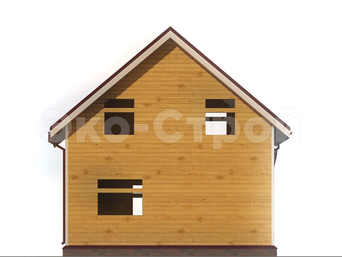 Дом из бруса ДУ 039 вид 2