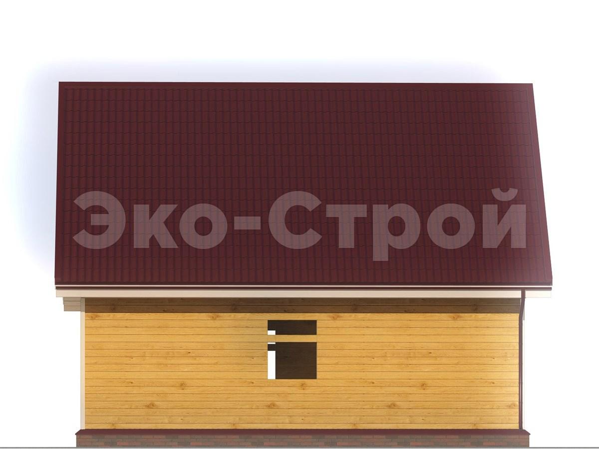 Дом из бруса ДУ 041 вид 1