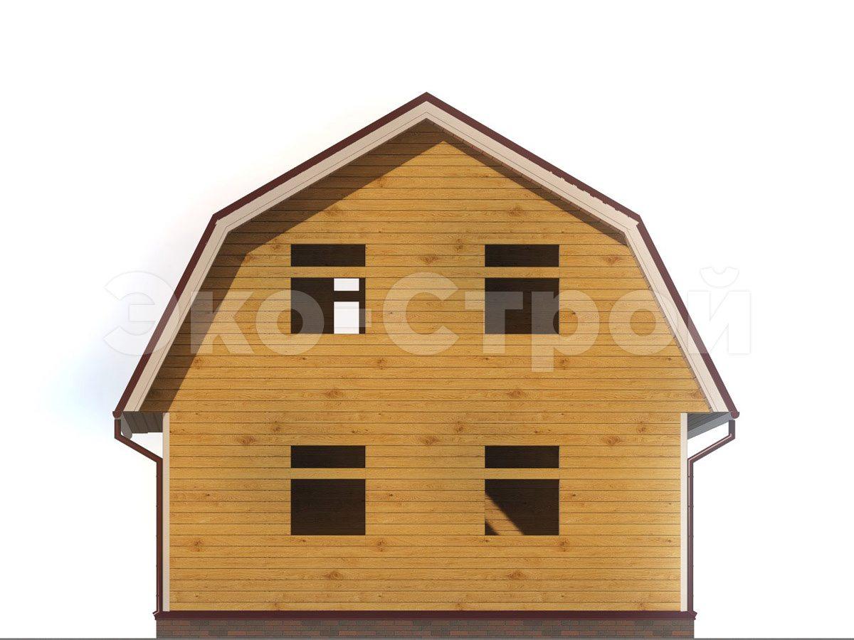 Дом из бруса ДУ 042 вид 2