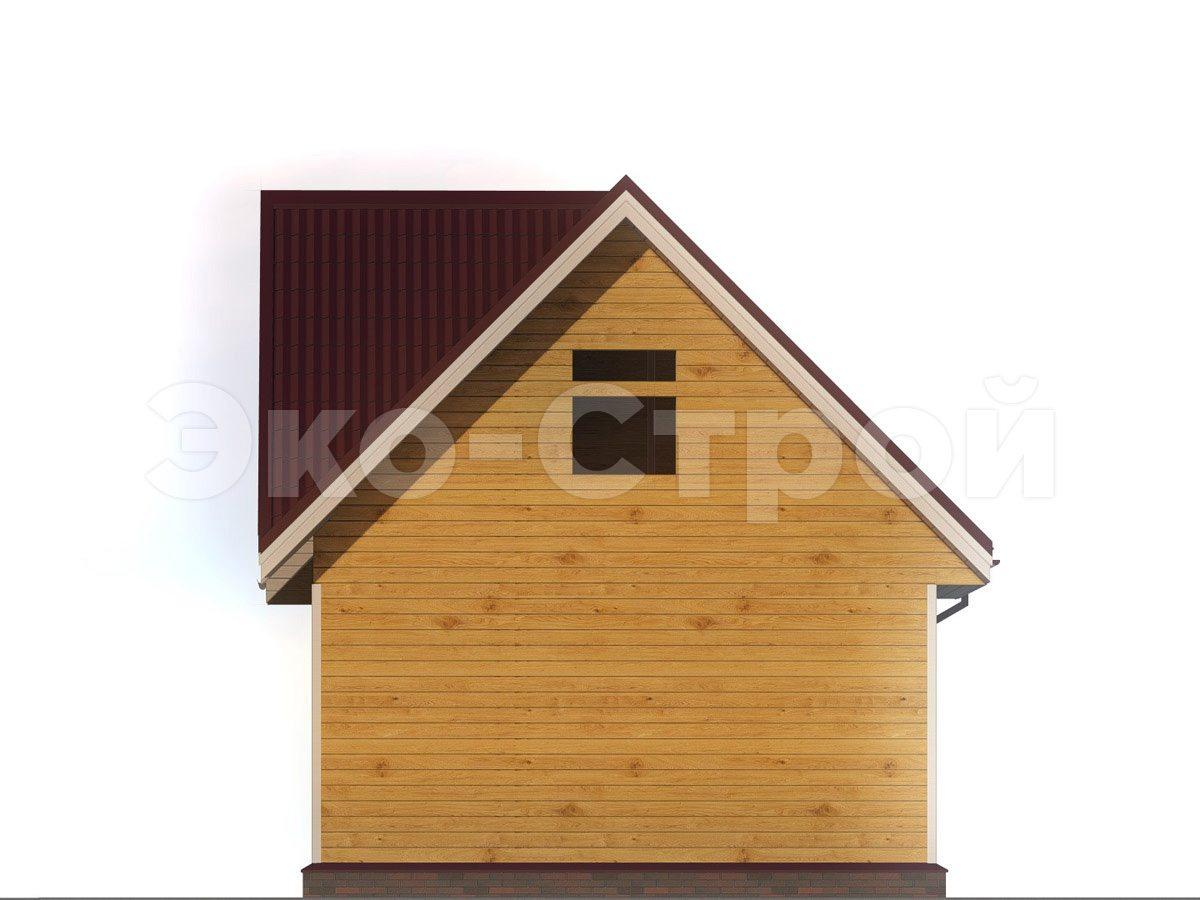 Дом из бруса ДУ 043 вид 2