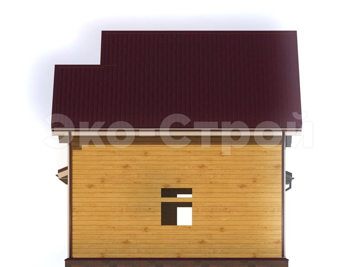 Дом из бруса ДУ 044 вид 3