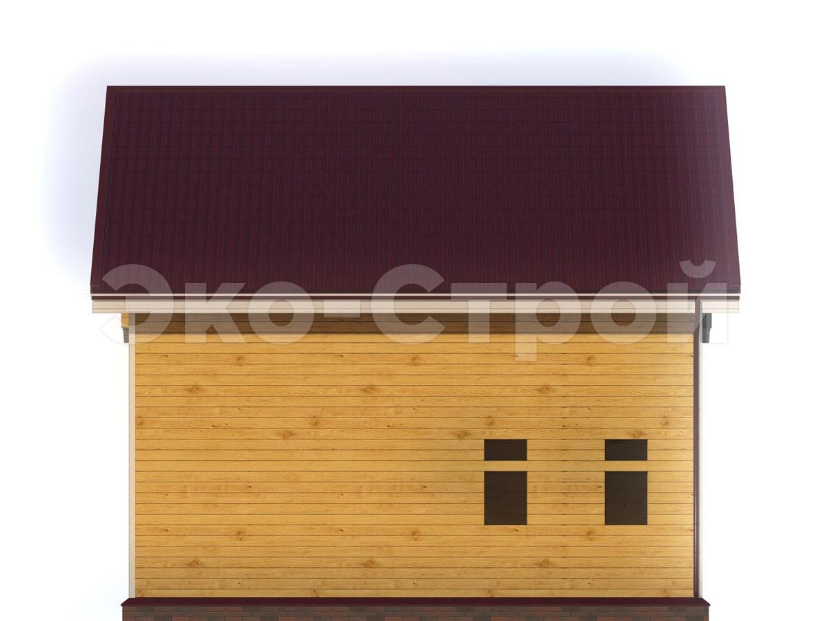 Дом из бруса ДУ 045 вид 3
