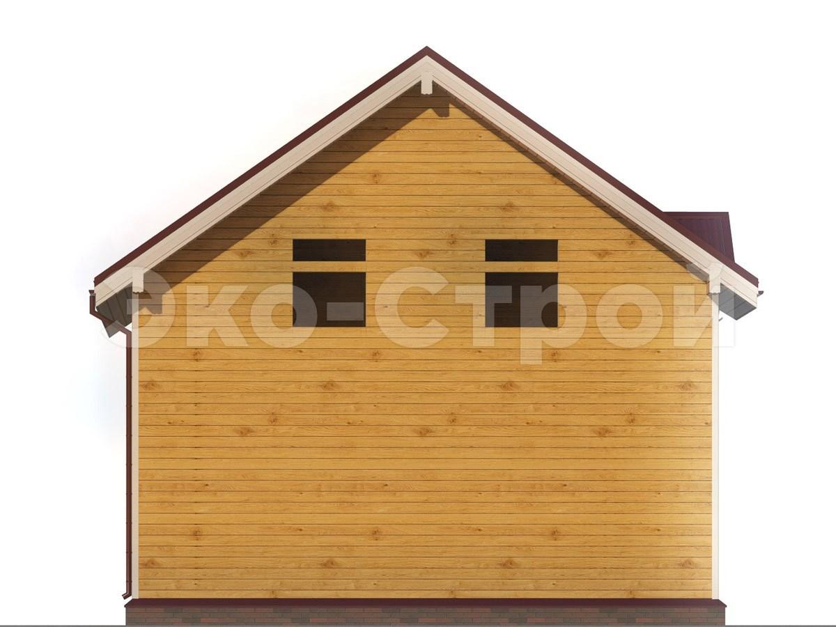 Дом из бруса ДУ 045 вид 2