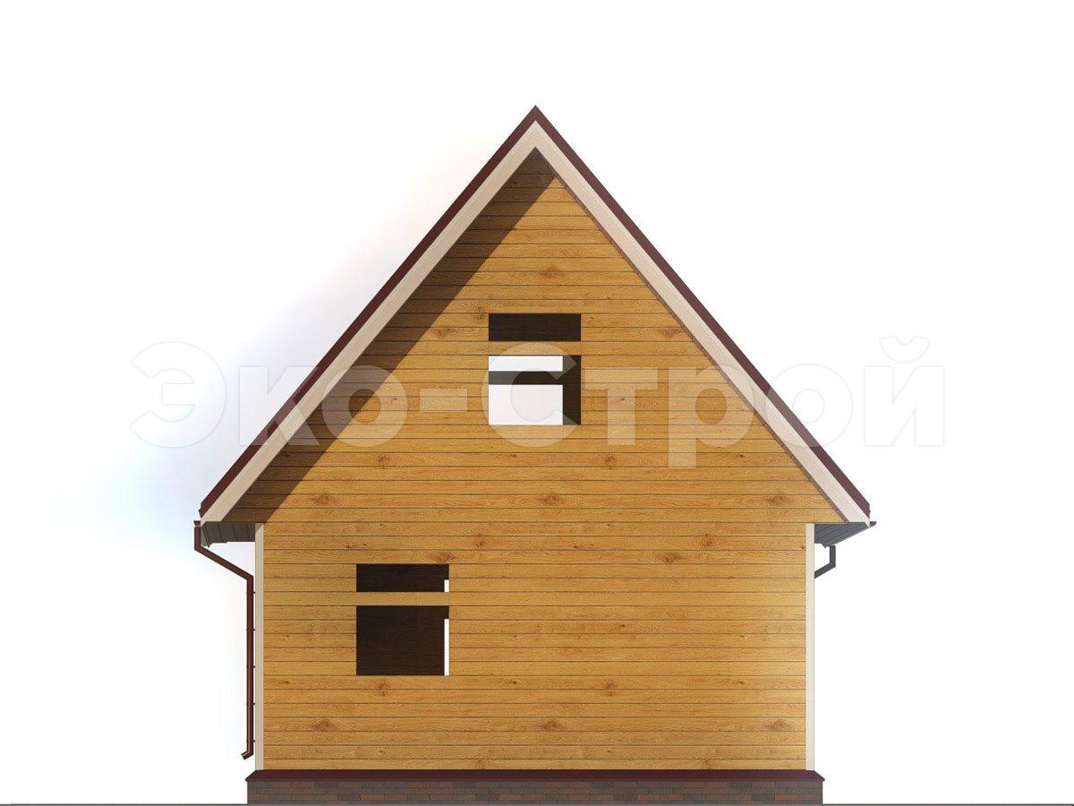 Дом из бруса ДУ 047 вид 2