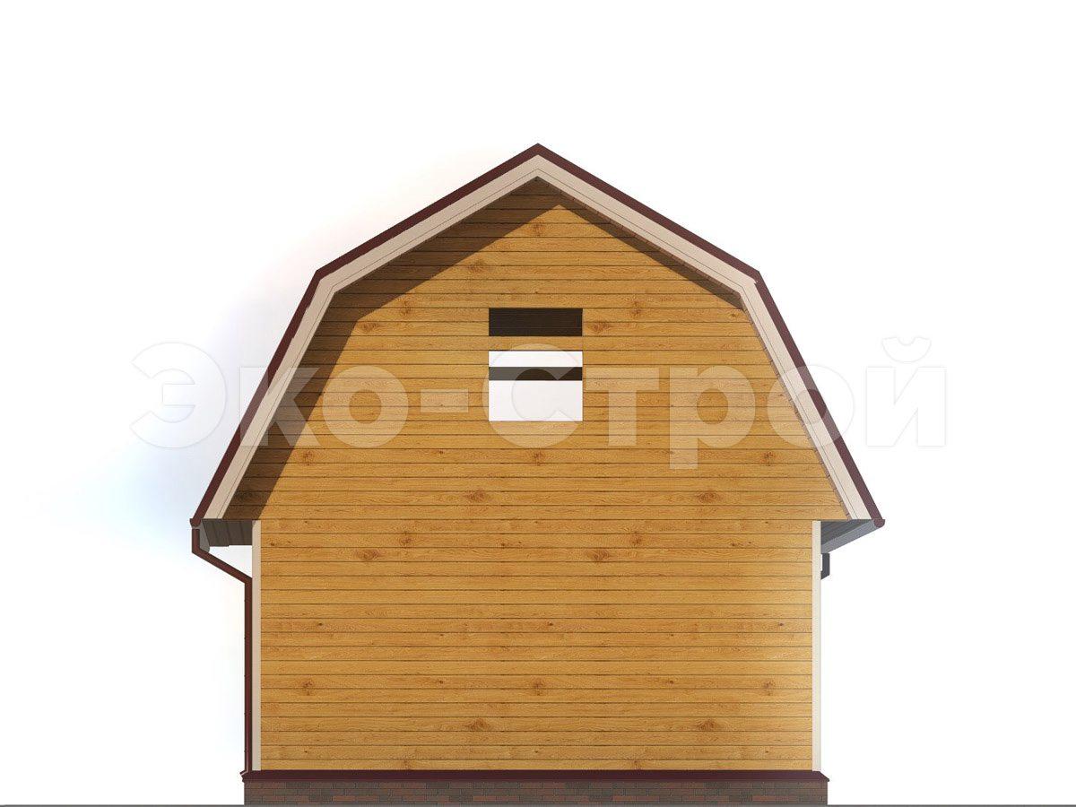 Дом из бруса ДУ 049 вид 2
