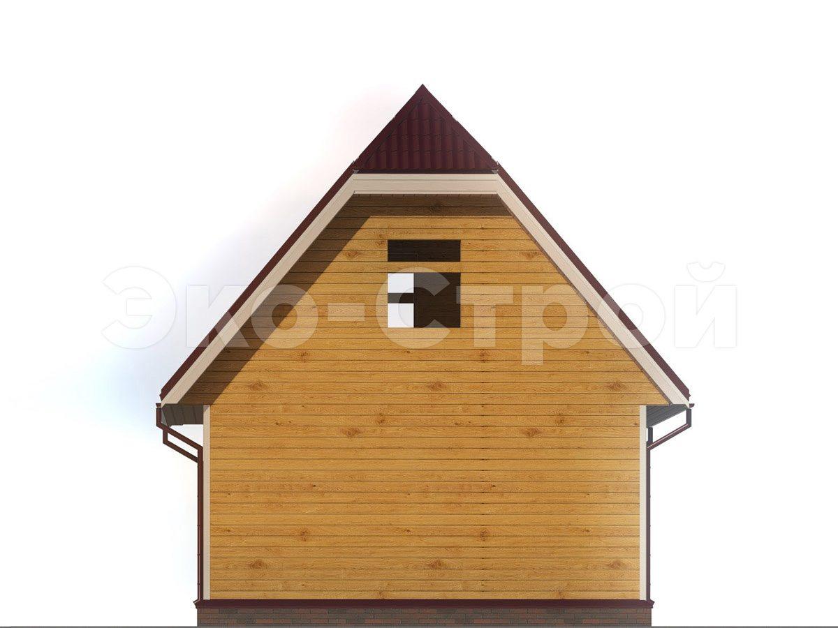 Дом из бруса ДУ 050 вид 2
