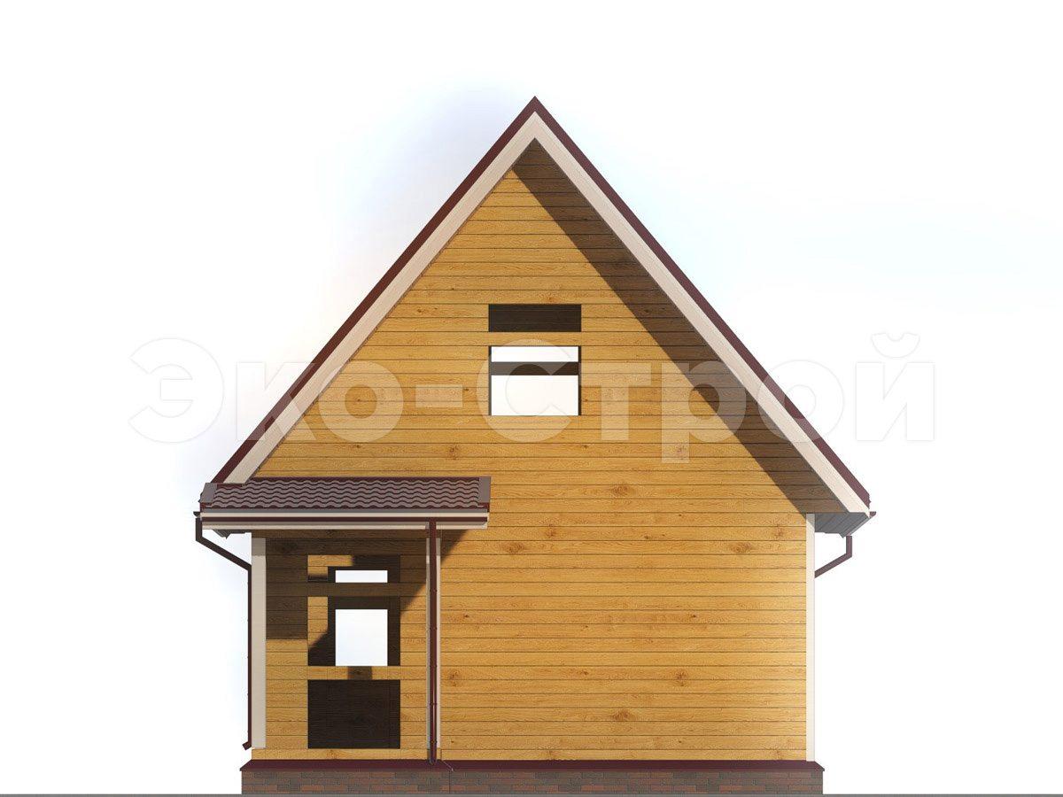 Дом из бруса ДУ 056 вид 4