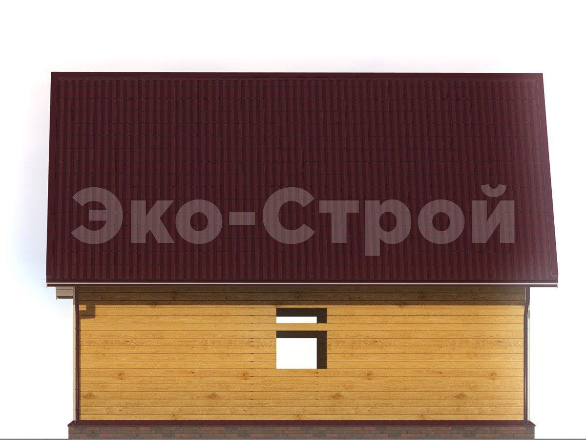 Дом из бруса ДУ 061 вид 2