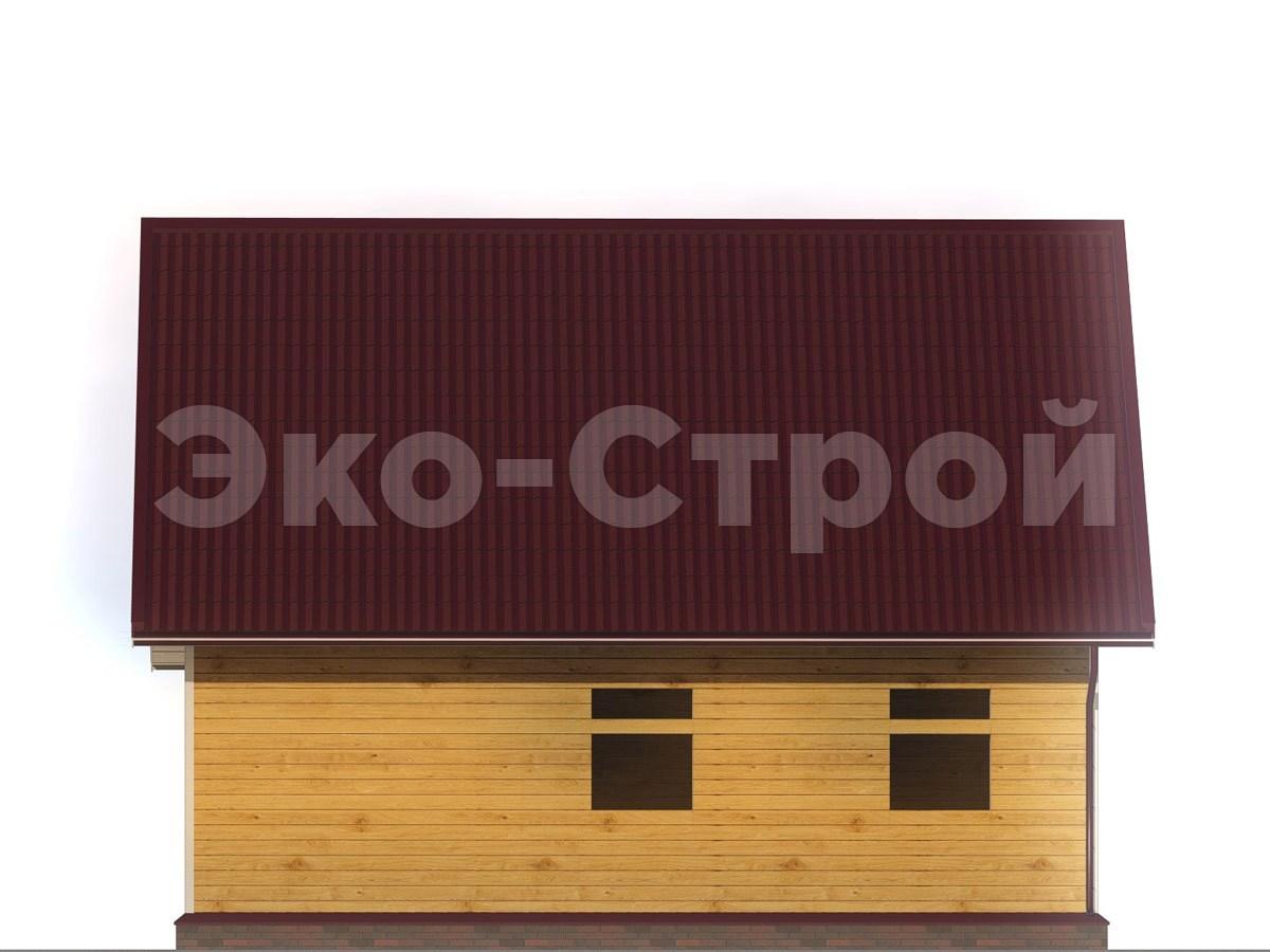 Дом из бруса ДУ 062 вид 2