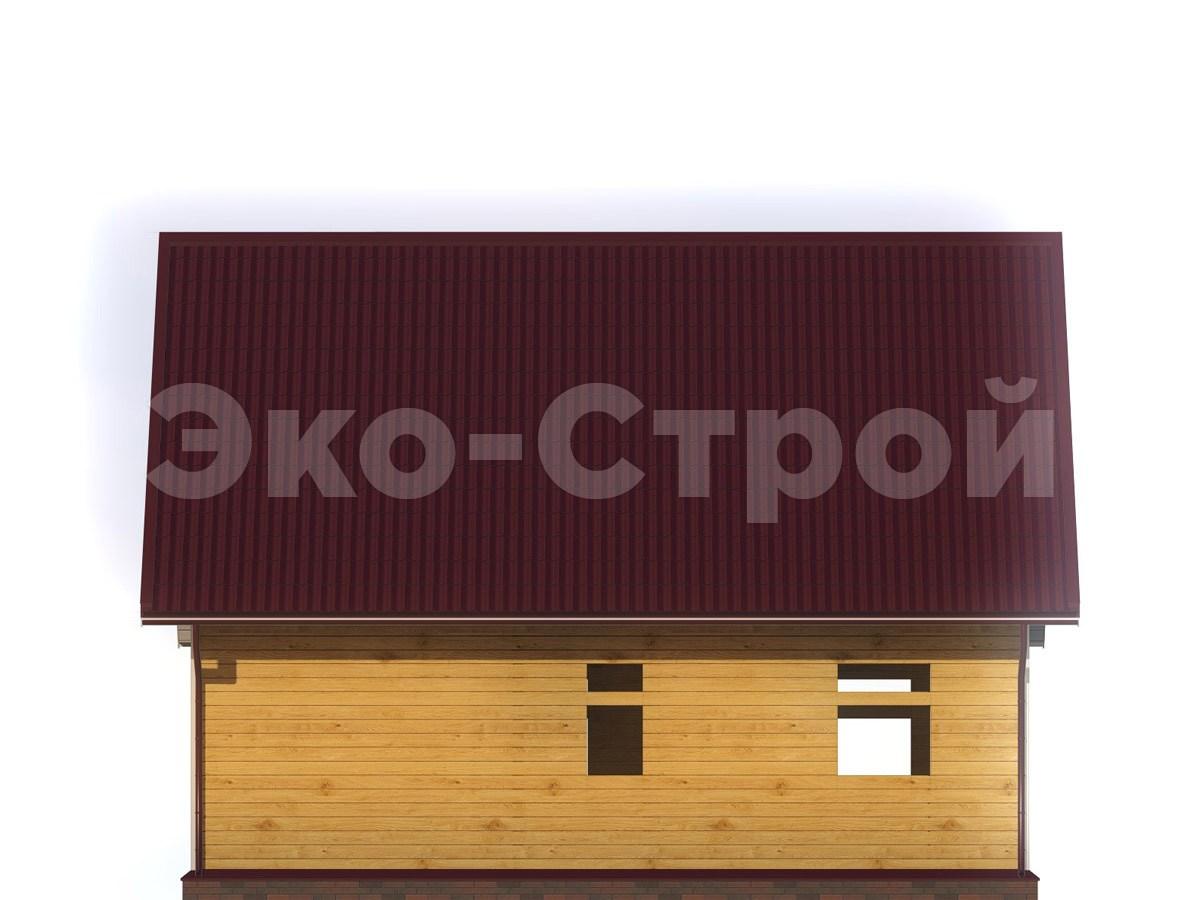 Дом из бруса ДУ 063 вид 3