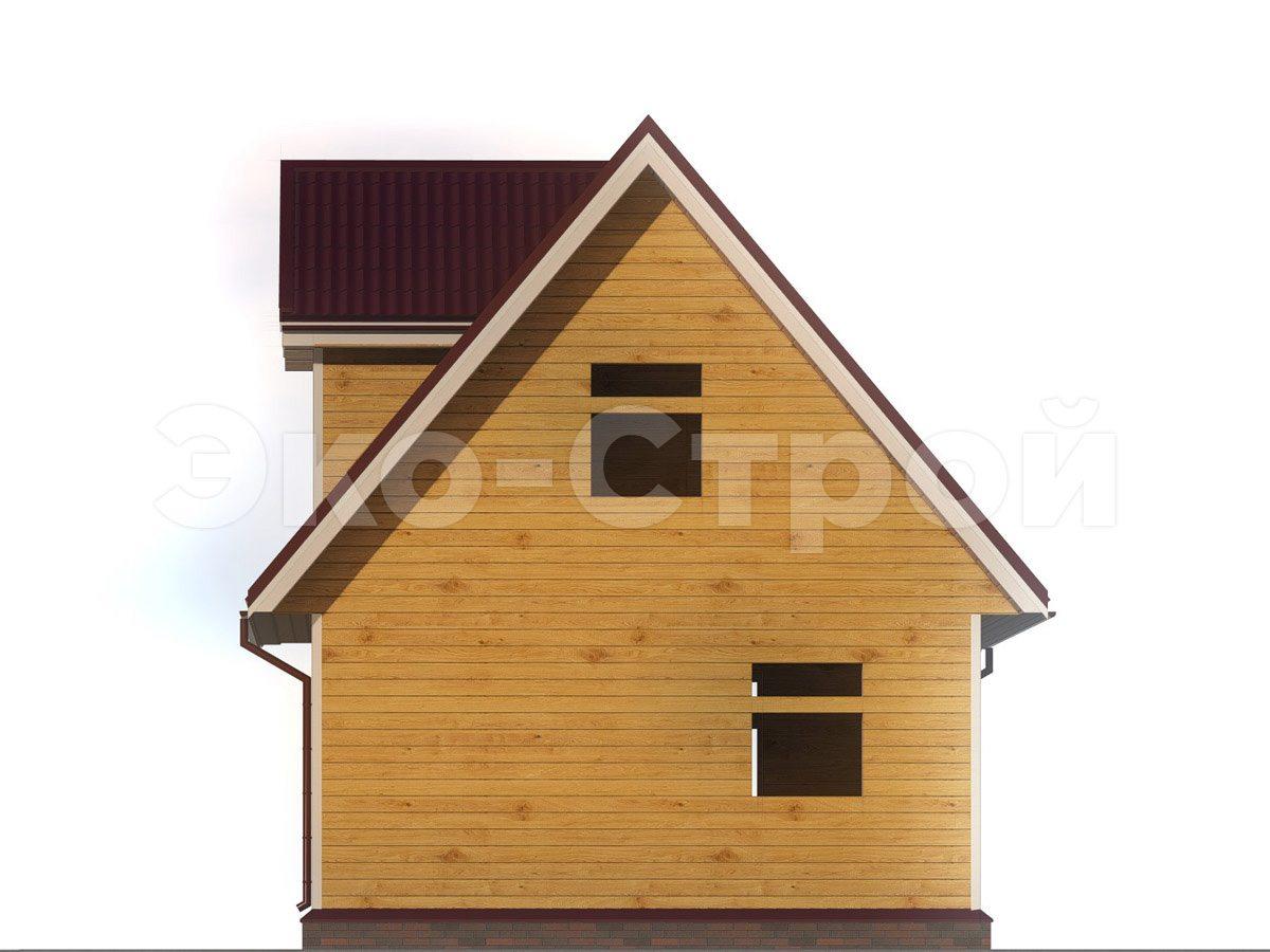 Дом из бруса ДУ 064 вид 2