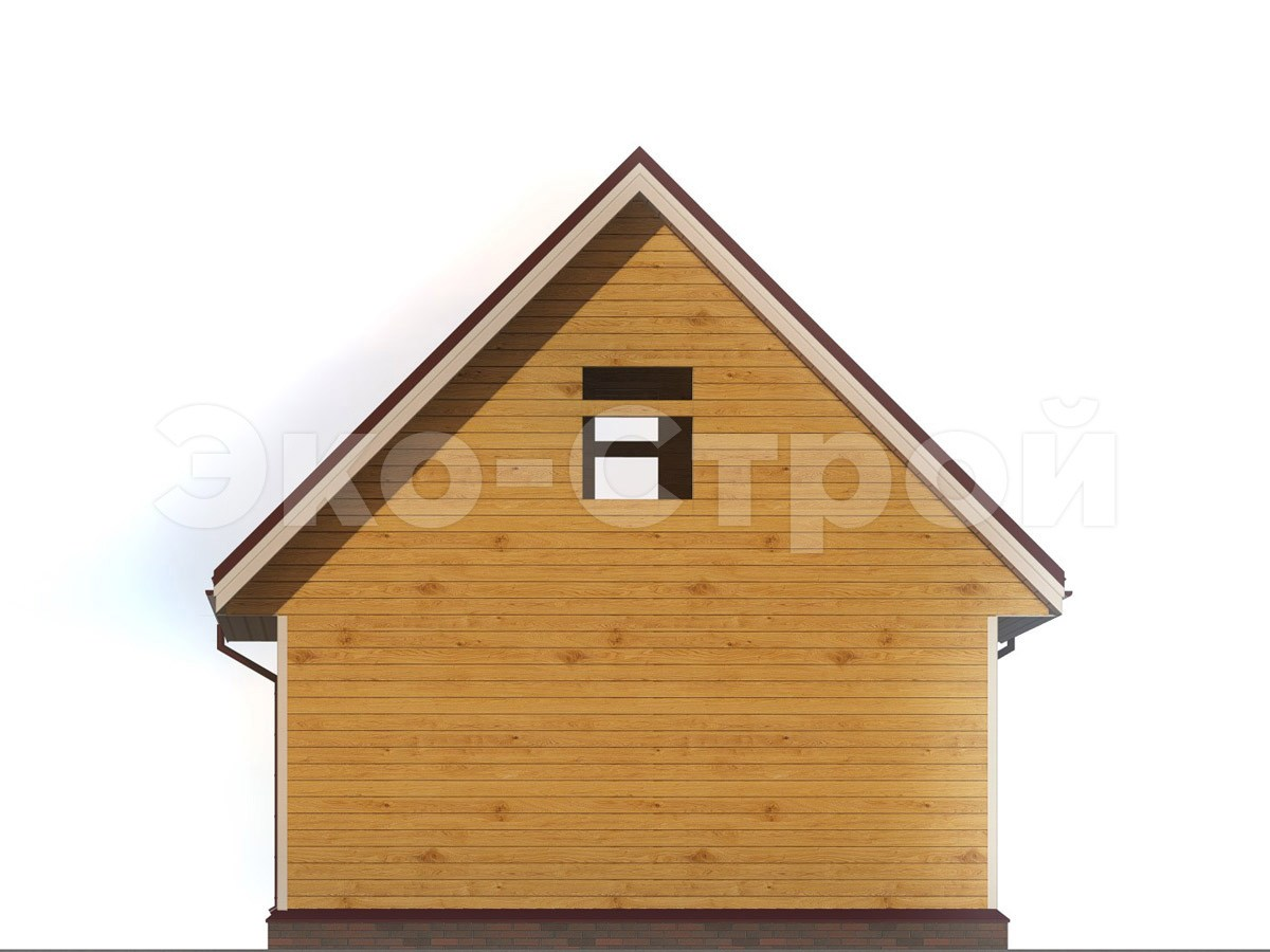 Дом из бруса ДУ 067 вид 2