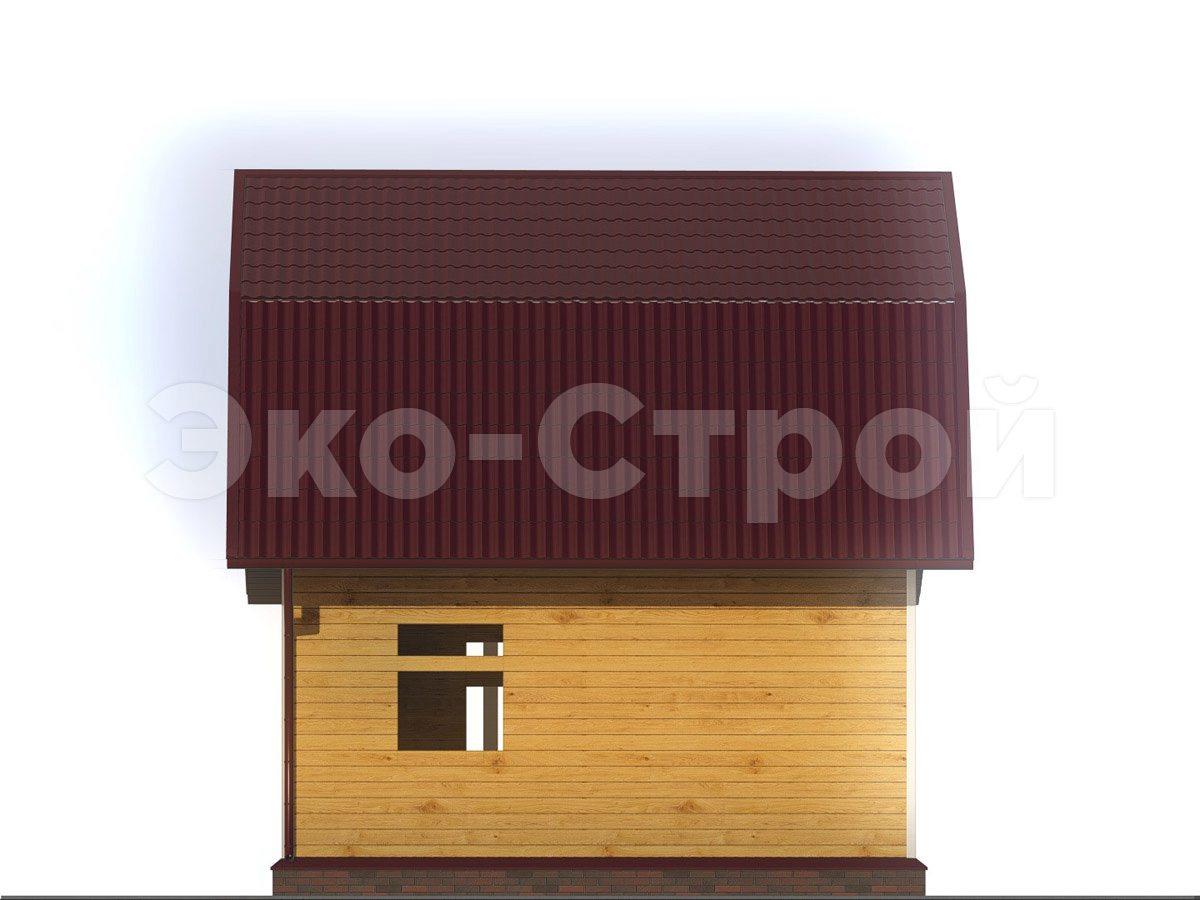 Дом из бруса ДУ 069 вид 1