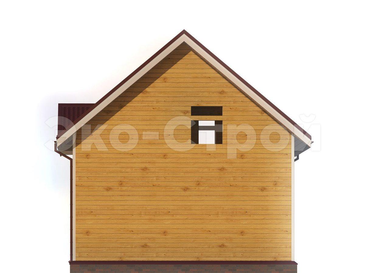 Дом из бруса ДУ 073 вид 2