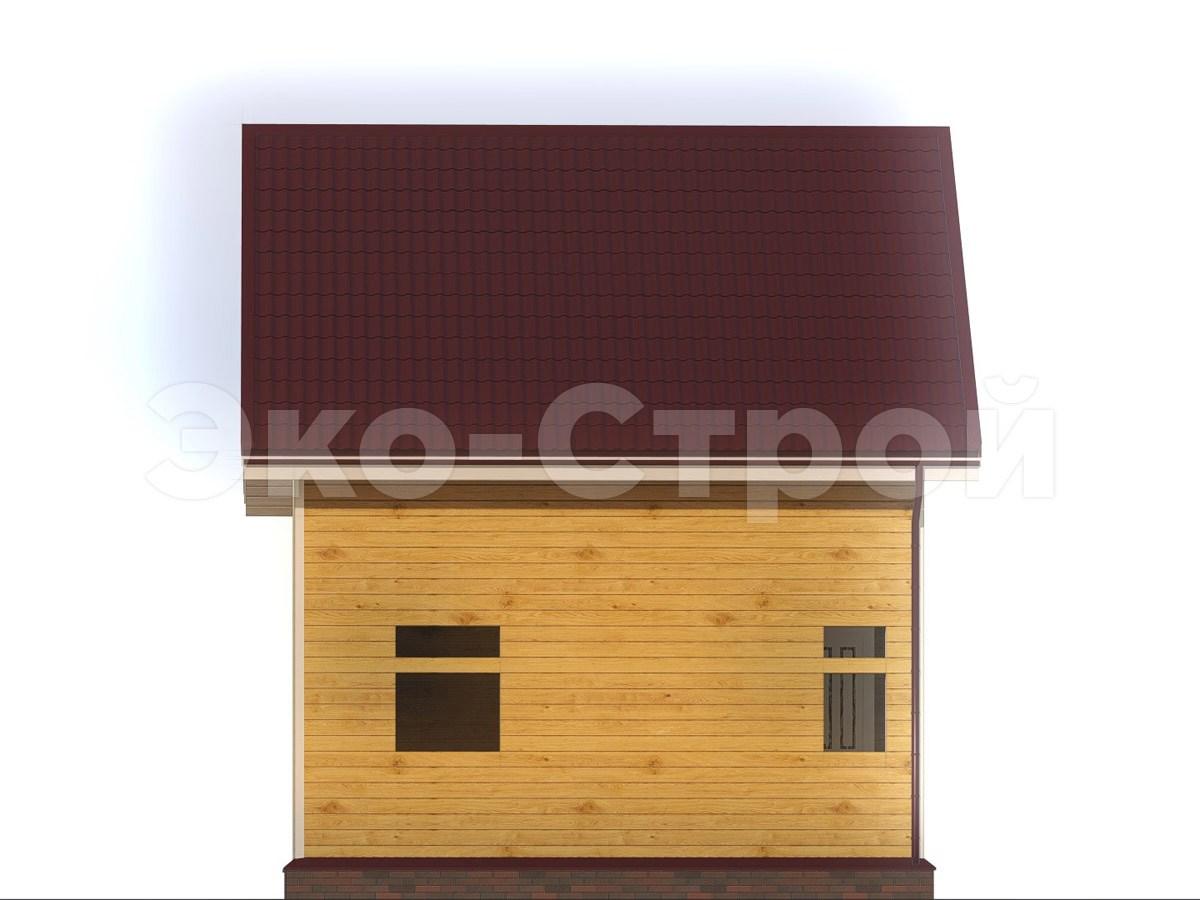 Дом из бруса ДУ 073 вид 1