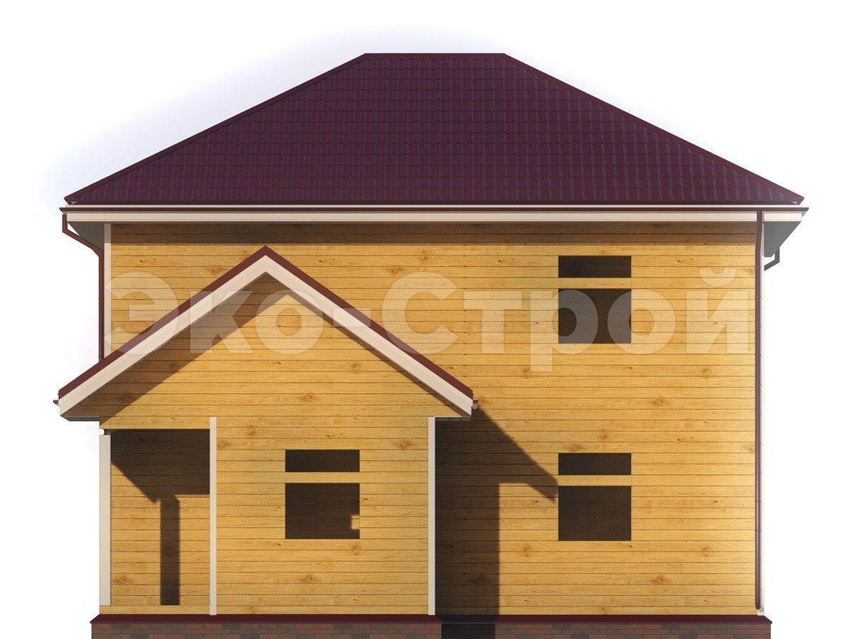 Дом из бруса ДУ 074 вид3