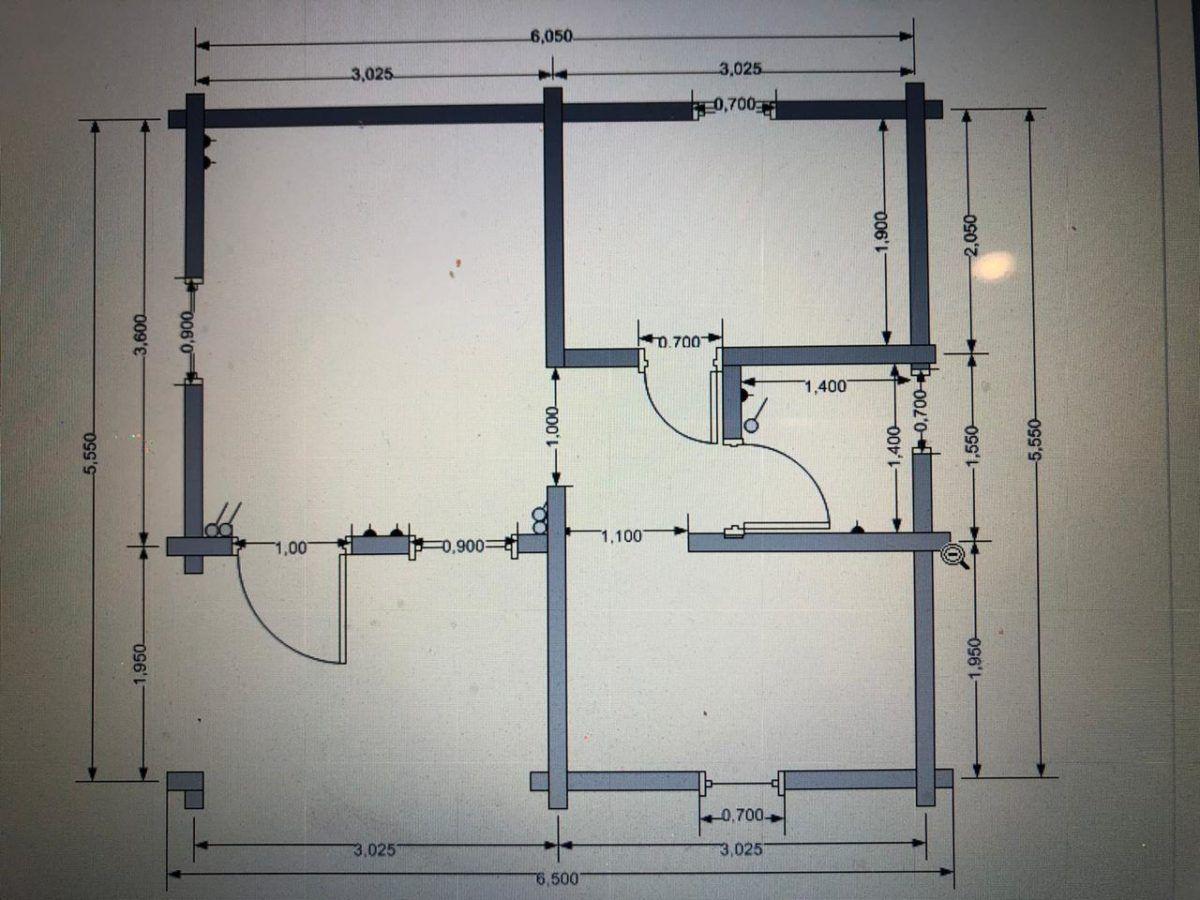 Баня из бруса БУ 021 план