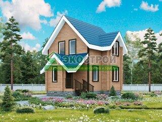 Дом из бревна ОЦБ 001