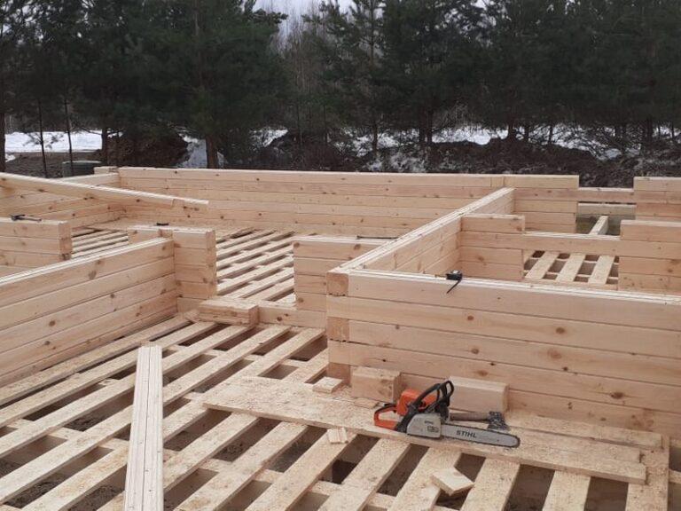 Строительство деревянного дома