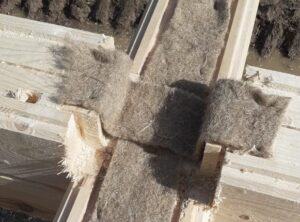 Утеплитель стен деревянных домов